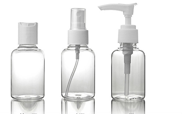 empty 50ml PET plastic beauty make up cosmetics bottles
