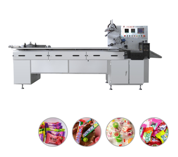 Computer controlled Multi-function Pillow-type Packing Machine/automatic candy wrapping machine