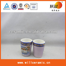 ceramic handmade wine custom souvenir cups