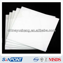 SANPONT Cheap China Imports Needed PLC Silica Gel Plate 0.5mm Thinkness