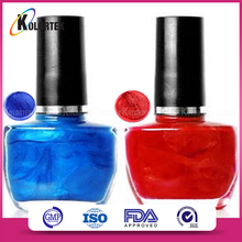 Mica based color paint nails pigment for nail gel polish