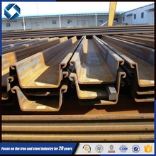SY295/345B Hot sale size of steel sheet pile/retaining walls/Flange Plate