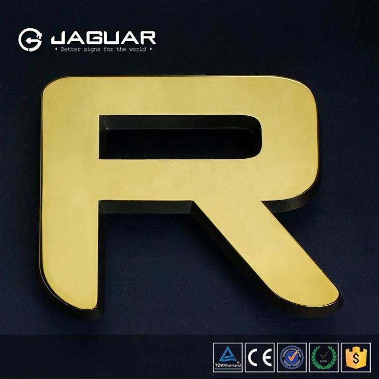 Jaguar Sign Manufacturer Outlet Metallic Glass Alphabet Letter Led ...