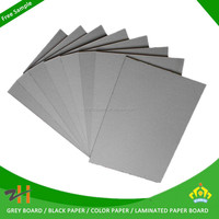 Making notebook cover material paper foam coated grey board