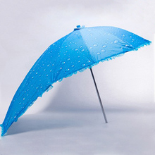 The New Colorful Windproof bicycle Motorcycle umbrella