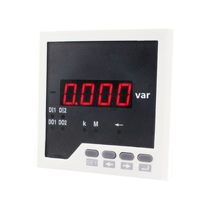 Q31 frame size 96*96 low price industrial usage single-phase led digital reactive power measurement meter