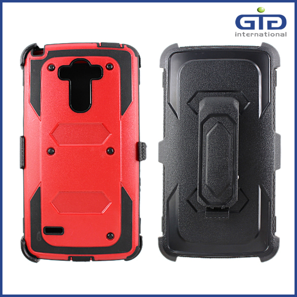 HOT Phone Accessories! New arrival hybrid robert kickstand case for samsung for galaxy for Note 4