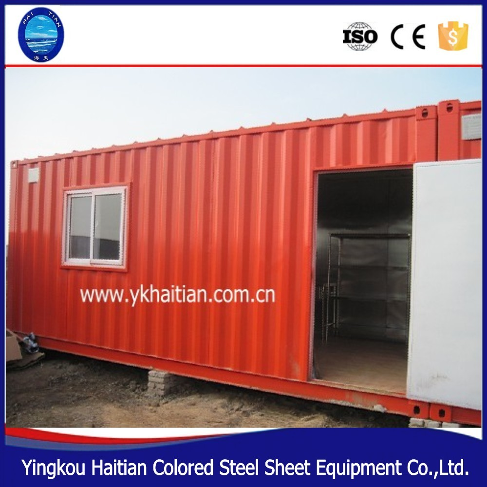 china affordable modern iso prefab houses sip prefabricated house/prefabricated steel container home for sale