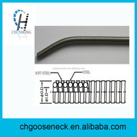 stainless steel flexible gooseneck metal tube