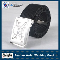High Quality Men Canvas Elastic Webbing Belt