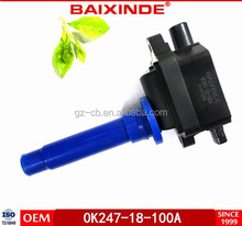 BAIXINDE Brand New Complete Ignition Coil For 0k247-18-100A/ 0k13-18-100,Replacement Parts,Car Ignition For Hyundai
