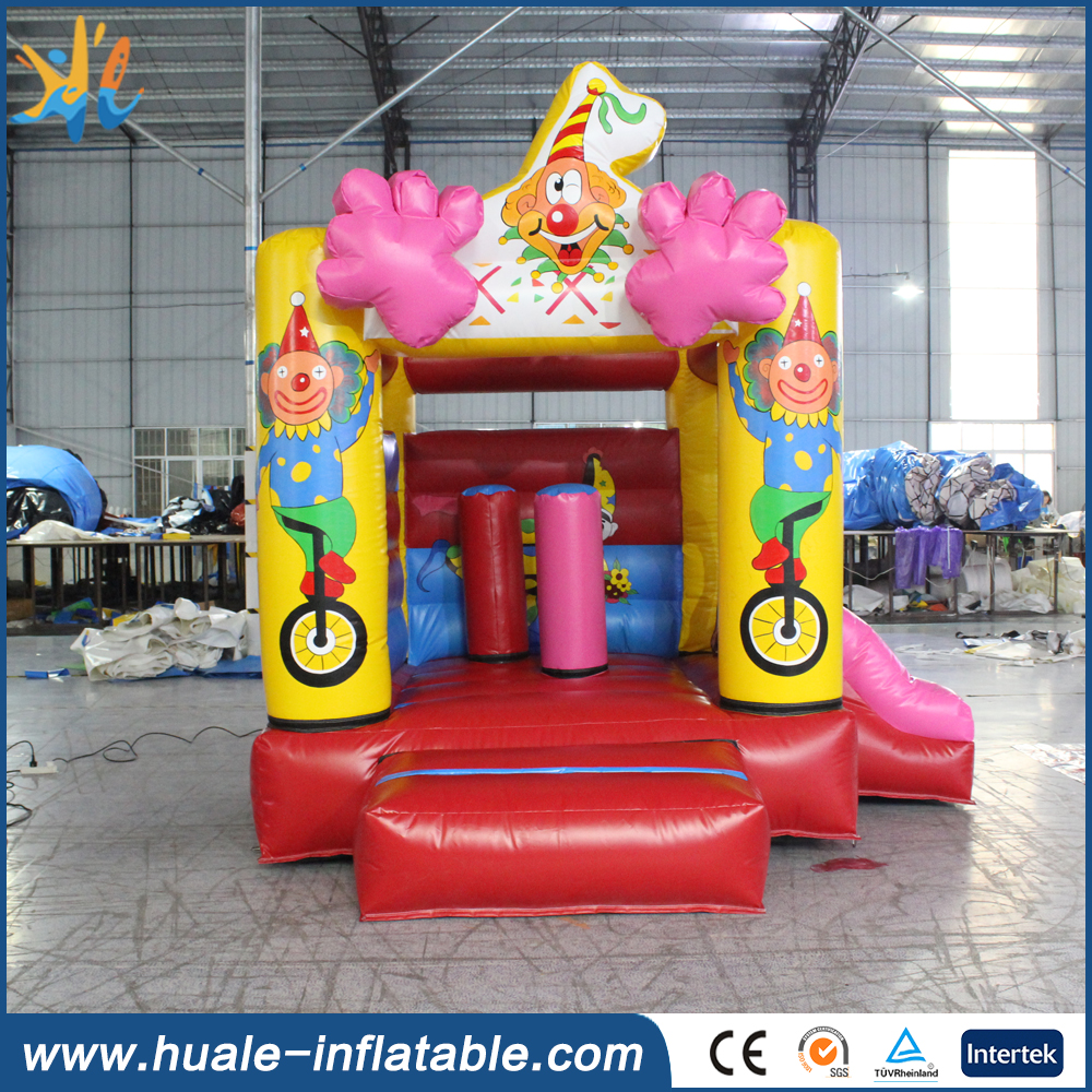 2016 kids fun commercial bouncing castle, baby bouncer vibrating for sale