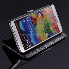 Wallet leather kickstand case for Samsung Galaxy Note 3