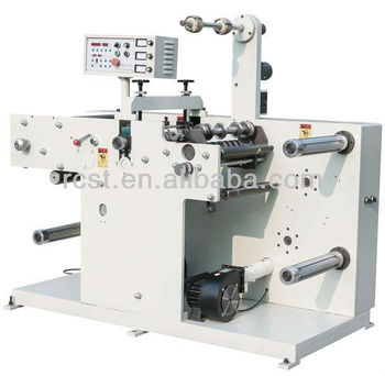 Label Slitting Machine With Rotary Die-cutting Station