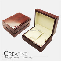 Elegant custom clamshell packaging box watch box with factory price