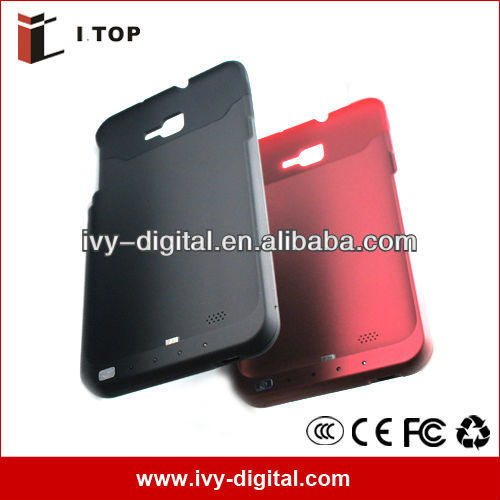 Free shipping 3200mAh Power Backup Extended Battery Case for Samsung Galaxy Note i9220