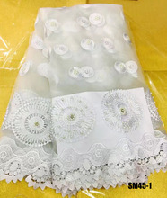dubai cheap beaded and stones bridal tulle lace french lace/tuller dress