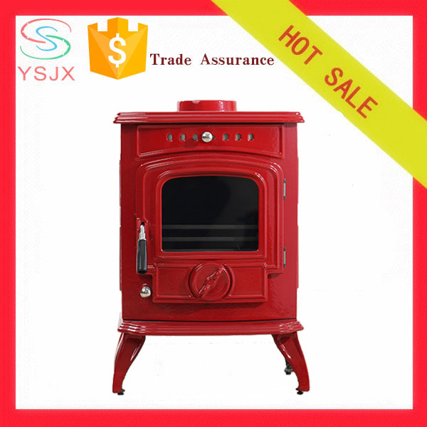 Enamel Fireplace/ Cast Iron Wood Burnning Fireplace/ Cast Iron Stove