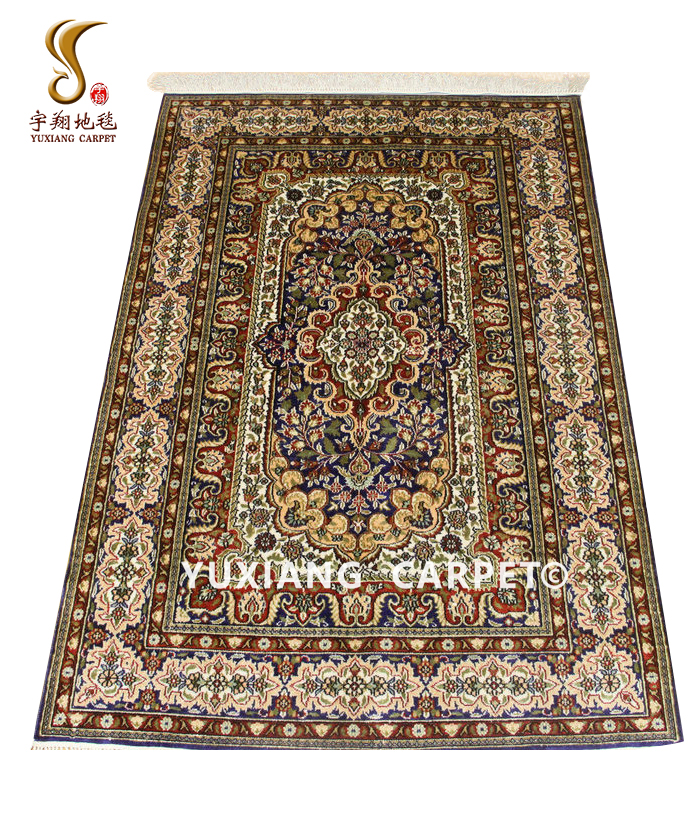 Ready to Ship 2019 Classical Design Good Quality 91*152 cm Turkish Handmade 100% Silk Carpet