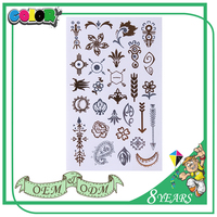 Latest High Quality Material Super Quality Good Price Self Adhesive Fashion Style Temporary Tattoo Arm