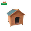 Wholesale Luxury Indoor Outdoor Large Wooden Dog House