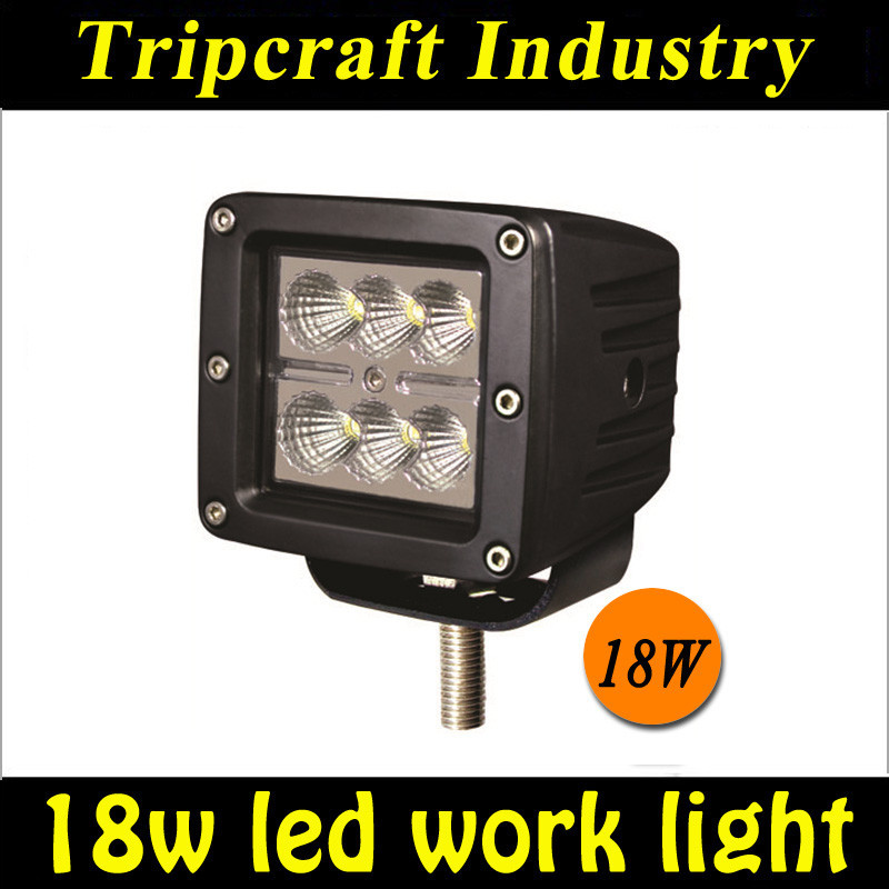 12V 18w auto accessories Led worklight , 4x4 Off road ATV Led spotlight, Led truck driving light