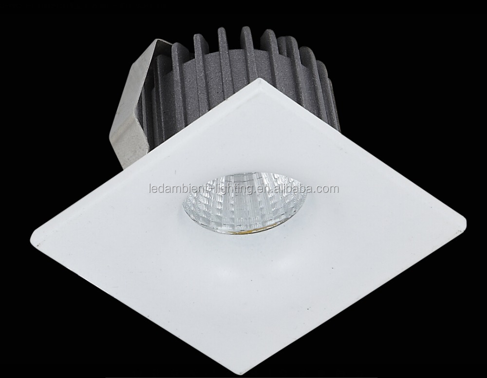 Mini Lamp Epistar LED Chip 3W Aluminum Housing 6000K COB Spot Lamp