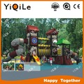 Professional made outdoor playhouse plastic outdoor playsets new design playground for kids