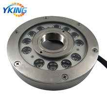 316L Stainless Steel <strong>RGB</strong> 12W 24VIP68 Waterproof Underwater LED Light for Fountain