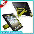 Silicone+PC Super case with stand Combo case for iPad Mini