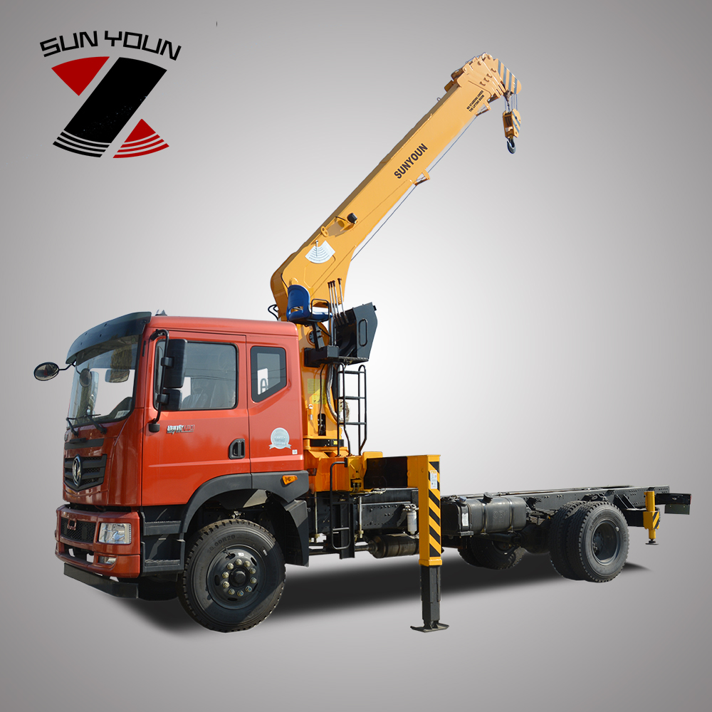 Dongfeng Right Hand Driver Hydraulic <strong>Truck</strong> Mounted Crane 6.3 Ton