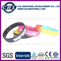 Factory custom promotion silicone wristband