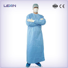 Sterile Disposable Standard Hospital Surgical Gown SMS Material