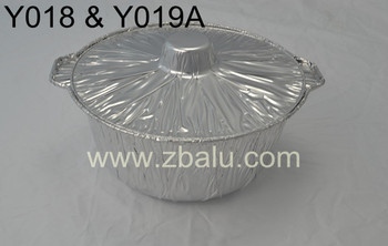 10 inches Aluminum Foil Pot Y018