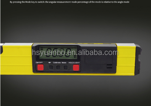 digital audible adjustable laser spirit level/ audible spirit level/ digital spirit level