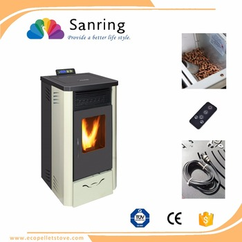 High temperature protected Aluminium Italian pellet stove