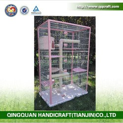 QQ Pet Factory Wholesale Pet Cat Boarding Cages & Large Animal Cages For Sale