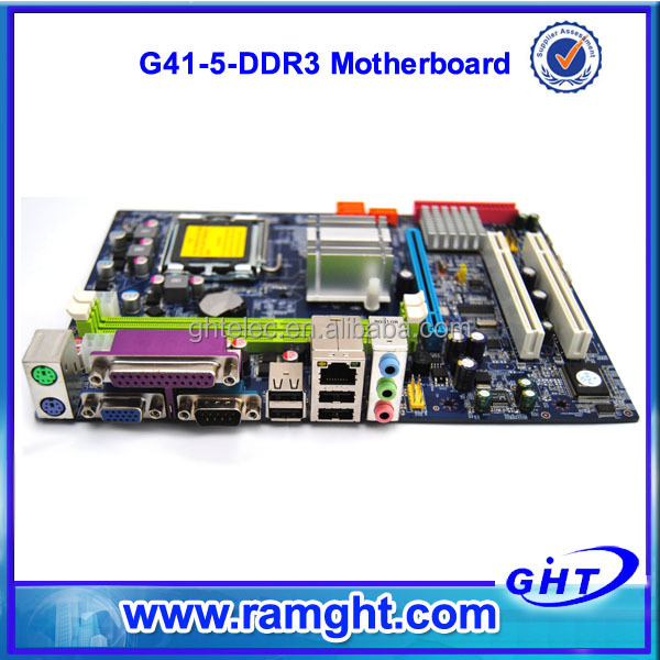low price brand oem ddr3 1333 1066 800 g41 775 socket motherboard accept paypal