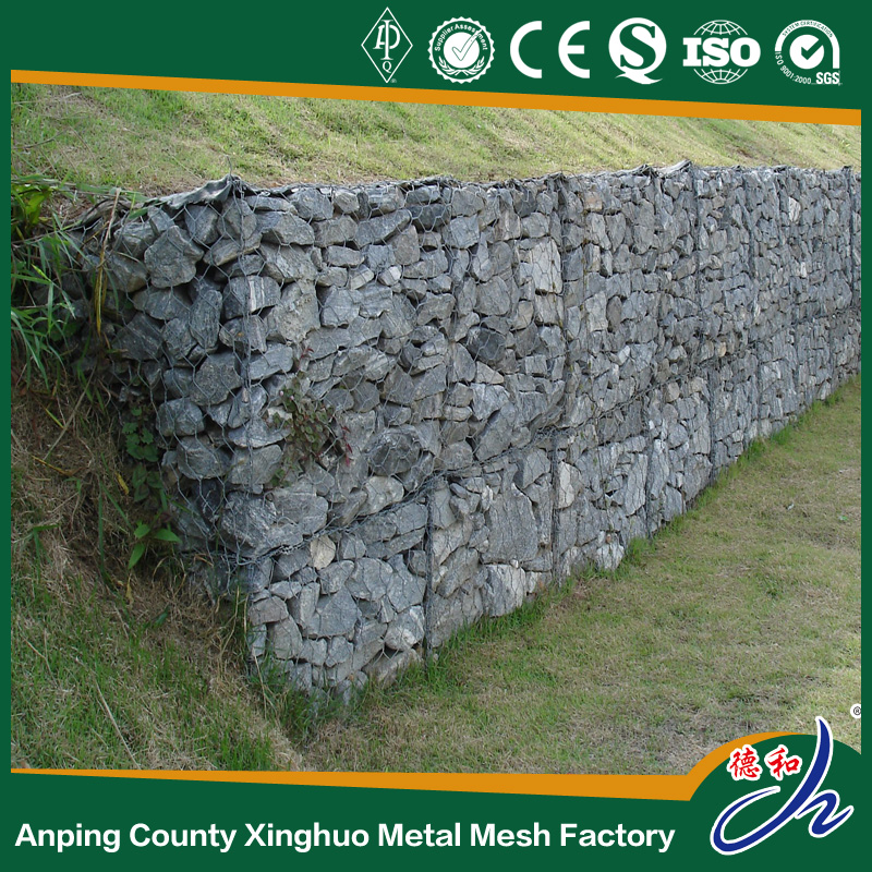 Alibaba Big Stone PVC Welded Galvanized Supplier Gabion Fence