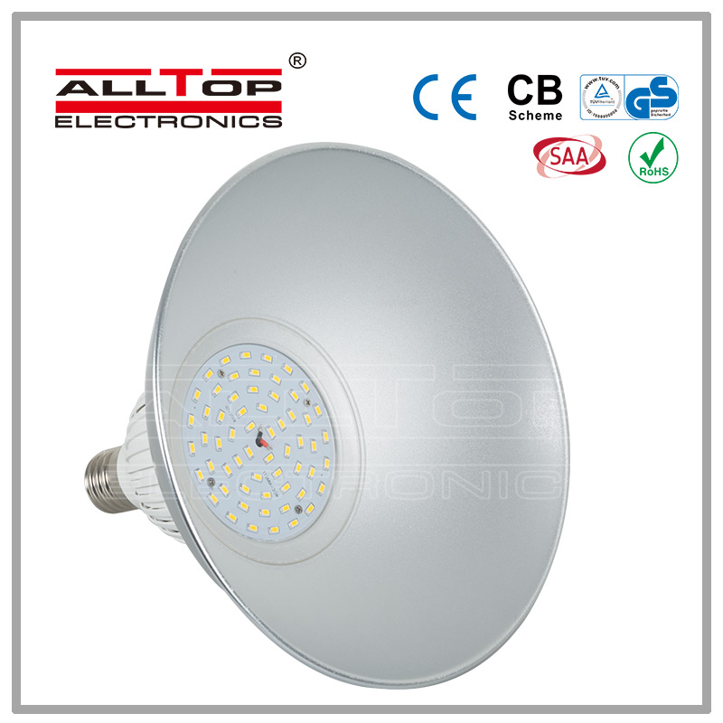CE RoHS warehouse energy saving dimmable led high bay 30w