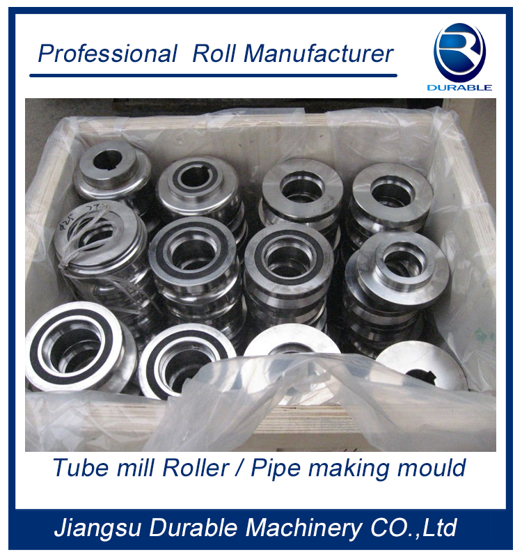stainless steel tube mill roll for supermarket shelves field