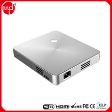 Airplay Connecting to iPhone DLP LED Smart Beam Projector for School