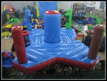 inflatable bungee run, inflatable jumping bungee, Inflatable basketball dunk bungee