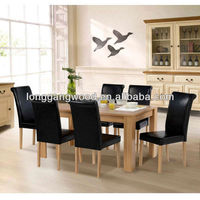 NEW DESIGNS UK FR standard KD packing wood dining table and chair dining chair