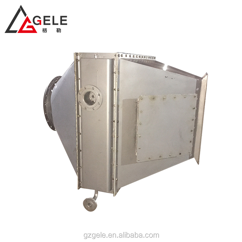 heat exchanger for baking euqipment high temperature thermal oil with aluminum extrude finned tube