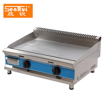 CE approval stainless steel commercial kitchen equipment/catering/professional/gas griddle/grill with low price