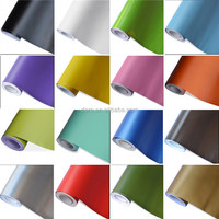 Popular Choose 1.52*20m PVC Material No Bubble Matte Car Body Sticker For Vehicle Body