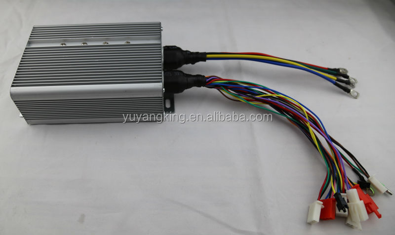 Auto cruise dc motor speed controller 48V for electric tricycle