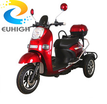 Custom logo electric scooter three wheel smart high quality motorcycle