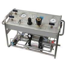 Casing And Tubing Borehole Drilling Pressure Test Equipment With Control Valves